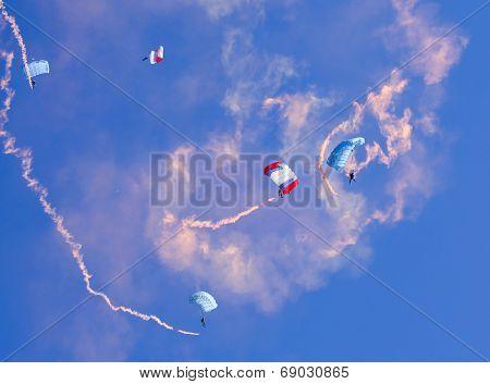 Descent By Parachute