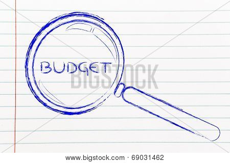 Focusing On Budget, Magnifying Glass Design