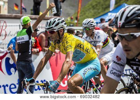The Yellow Jersey - Vincenzo Nibali
