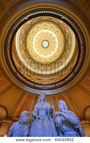 Sacramento Capitol Building Rotunda, California