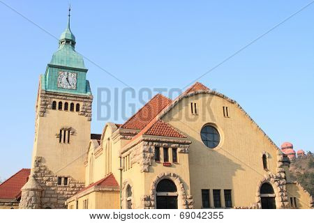 Protestant Church in Qingdao, China