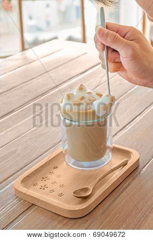 Barista Paint Foam Cute Cat ,latte Art 3D