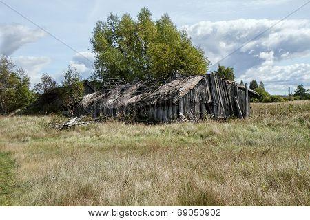 Abandoned And Ruined Grange
