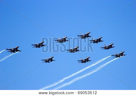 F-16 Flyby