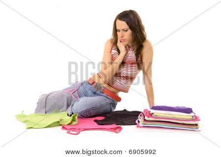 Woman Don't Know What To Wear
