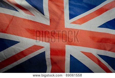 Retro Vintage British Flag
