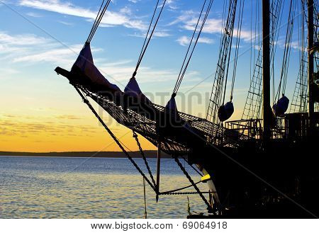 Tall Ship Sunrise
