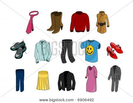 clothes colorful