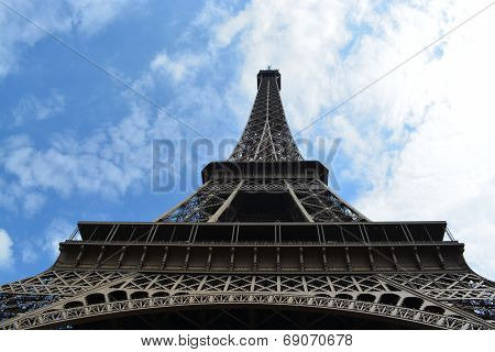 The Eiffel Tower - Abstract View