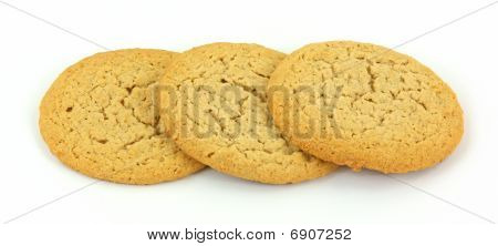 Three Peanut Butter Cookies