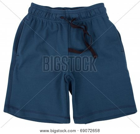 Sport shorts. Isolated on a white background.