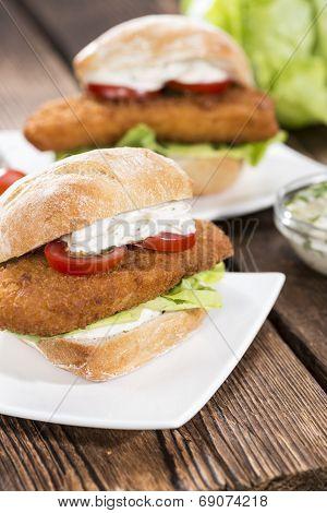 Homemade Fishburger