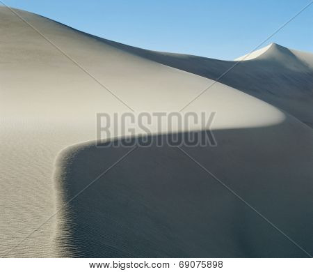 Curved Ridge of a Sand Dune