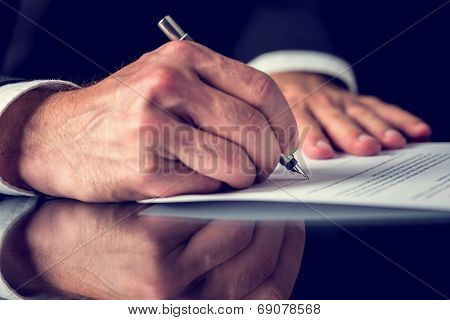 Signing Mortgage Papers