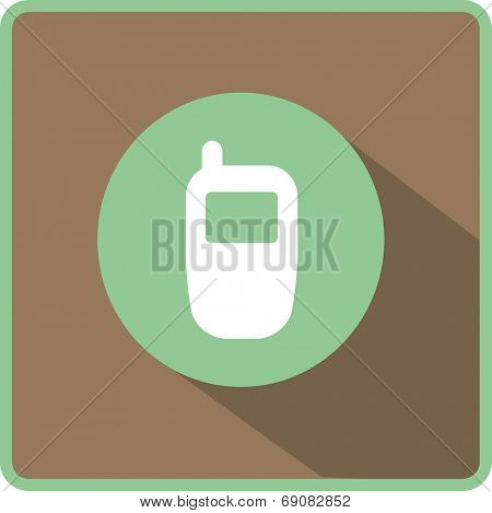 Flat Vector Phone Icon