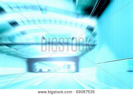 Commuter Traffic - Urban Tunnel