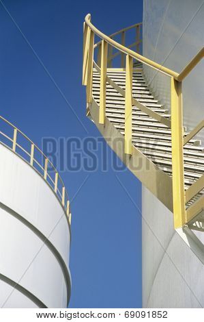 Stairway on Storage Tank