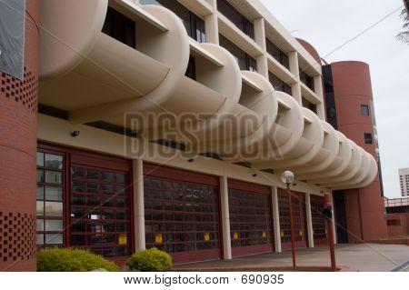 Modern Fire Station