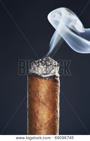 Burning Cigar