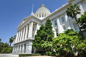 stock photo of mandate  - Sacramento Capitol Building in California - JPG
