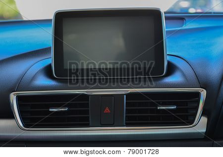 Control Panel In A Car