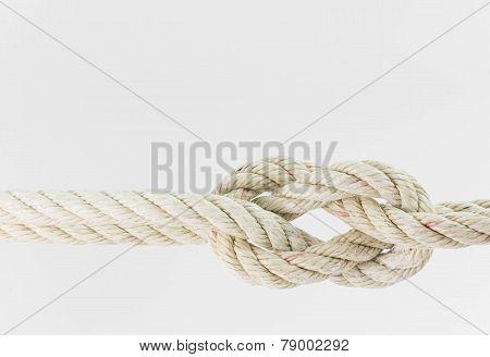 bending ropes together