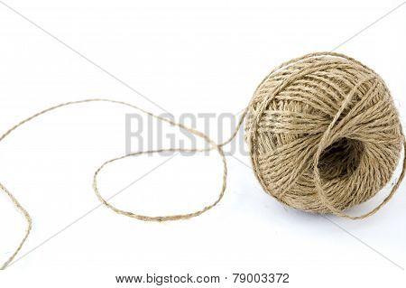 ?ball Of Hemp Rope