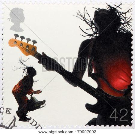 Reggae Stamp