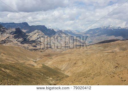 Mountain landscape in Karakorum range