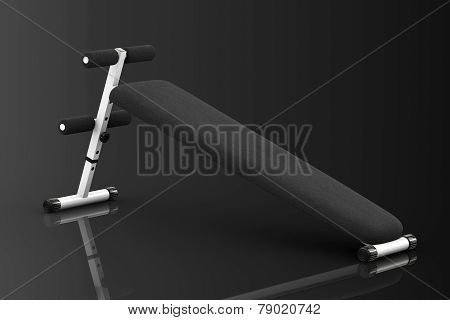 Exercise Bench. Gym Equipment