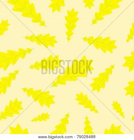 Autumn Oak Leaf Pattern