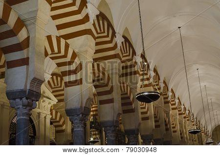 Cordoba mosque interior