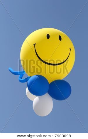 Smile at baloon