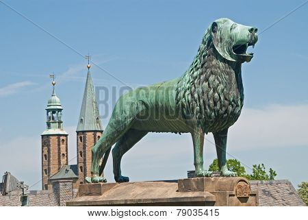 Mediaeval Imperial Palace, Kaiserpfalz, In Goslar, Germany
