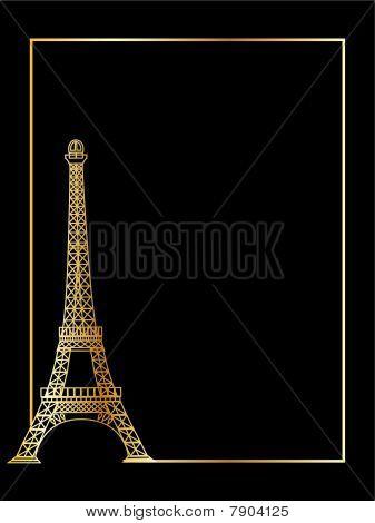 the vector eiffel tower eps 8
