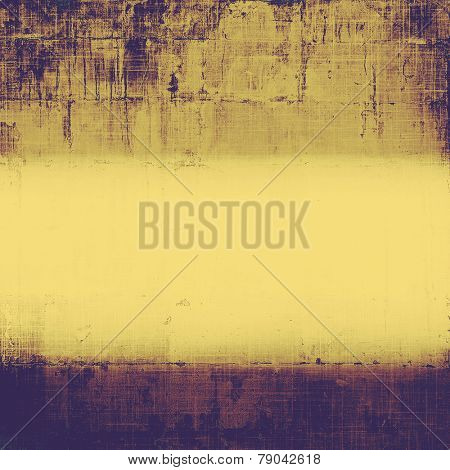 Vintage spotted textured background. With different color patterns: yellow (beige); brown; purple (violet)