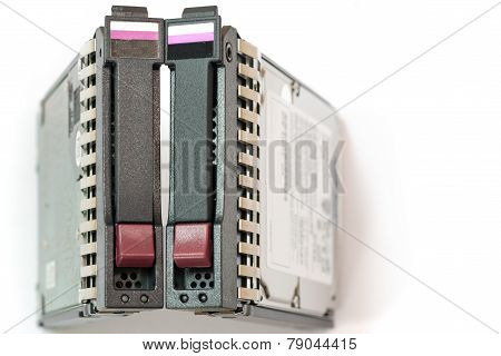 Pair Of Server Hard Drives