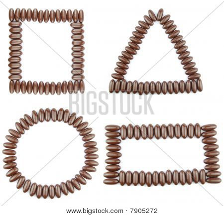 Chocolate Geometric Shapes