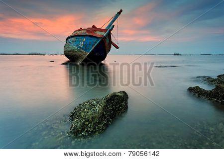 The Wrecked Ship, Thailand