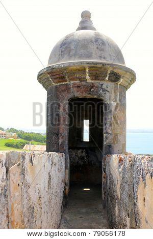 Corner tower in Fort El Morro
