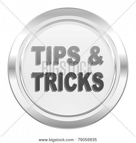 tips tricks metallic icon