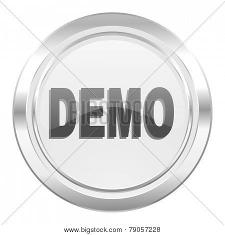 demo metallic icon