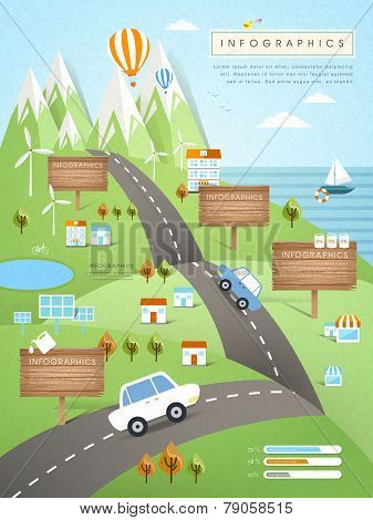 Ecology Concept Infographic Template