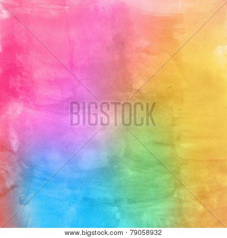 Watercolor multicolor