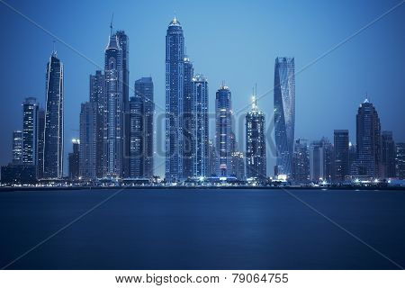 View Of Dubai, Special Photographic Processing