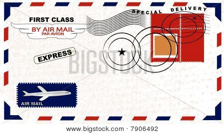 Envelope With Postage
