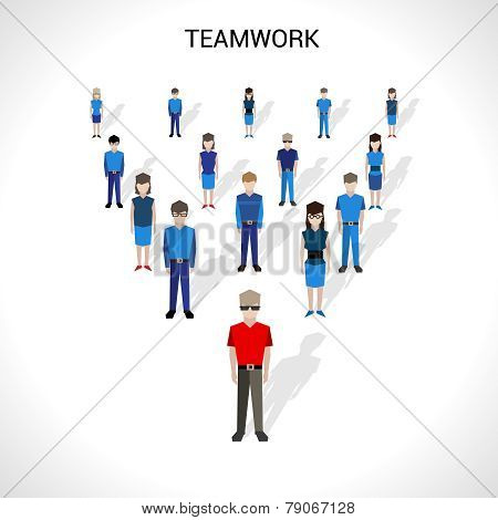 Teamwork Concept Illustration