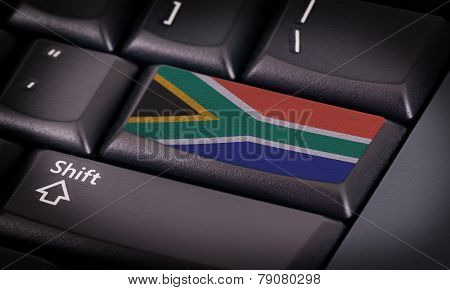 Flag On Keyboard