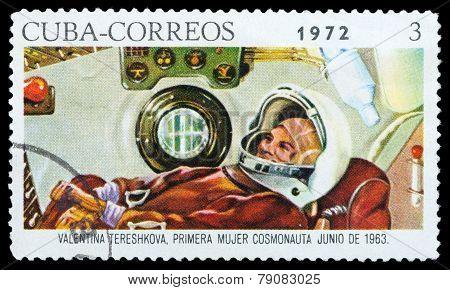 Cosmonaut Tereshkovav