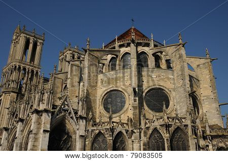 France, Collegiate Church Of Mantes
